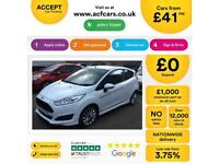Ford Fiesta Zetec S FROM £41 PER WEEK!