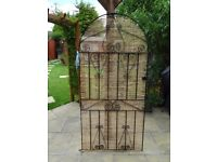 Wrought Iron Gate with all fittings as Brand new