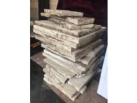 Free Broken paving slabs