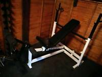 BODY SOLID Olympic Incline decline bench