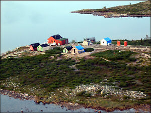 Remote Fishing Lodge in the Arctic Barren Lands