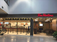 Now Hiring Full Time Team Members at Airport Tim Hortons