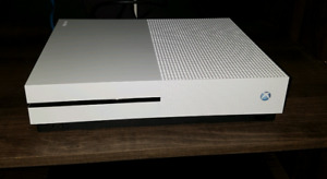 XBOX ONE S 1TB with games for sale.