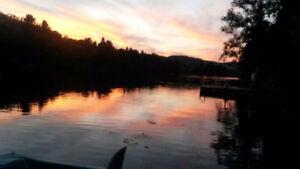 Chalet a vendre au lac grenier
