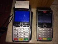 2 x iWL250 card payment machine