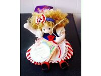 Green Tree Collectors Item Name your doll China Doll playing America my Beautiful