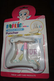 Teat hole puncher