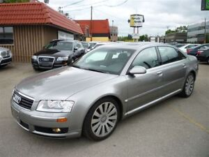 2005 Audi A8 L 4.2 QUATTRO/LEATHER/ALLOYS/ONLY 105000 KMS!