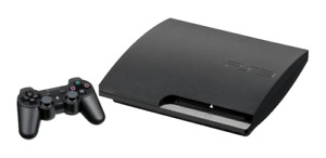 PS3 Slim + Upgraded HDD + 7 Games