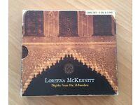 Loreena McKennitt CD & DVD Nights from the Alhambra