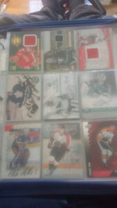Hockey Cards Signed/Rookies/Jersey!!!