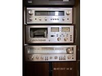 Wanted: 70's and 80's Hi-Fi