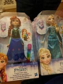 BNIB anna and else dolls