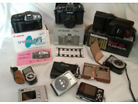 joblot of camera and accessories