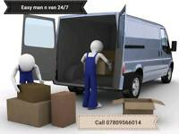 Easy man and van removal service 19.99 ph 24/7 Call 07809566014