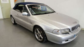 2001 VOLVO C70 20V CONVERTIBLE - PX VEHICLE PRICED TO CLEAR