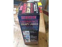 Unused Emergency escape ladder (Kidde) 13 foot model for two storey home