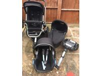 Black Quinny Buzz Travel System