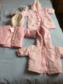 Baby girls clothes from birth