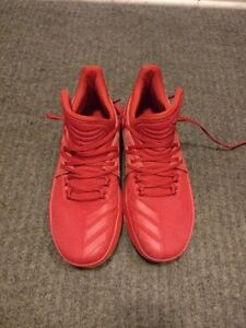 Adidas Dame (D Lillard) 3 - Roots (all red) colorway - size 8.5