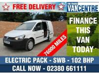 VOLKSWAGEN CADDY C20 PLUS 1.6 TDI SWB 102 BHP ELECTRIC PACK