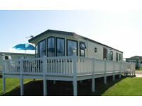 CARAVAN FOR HIRE. CRAIG TARA AYRSHIRE. SCOTLAND VERANDA SEA VIEWS !!!!!!