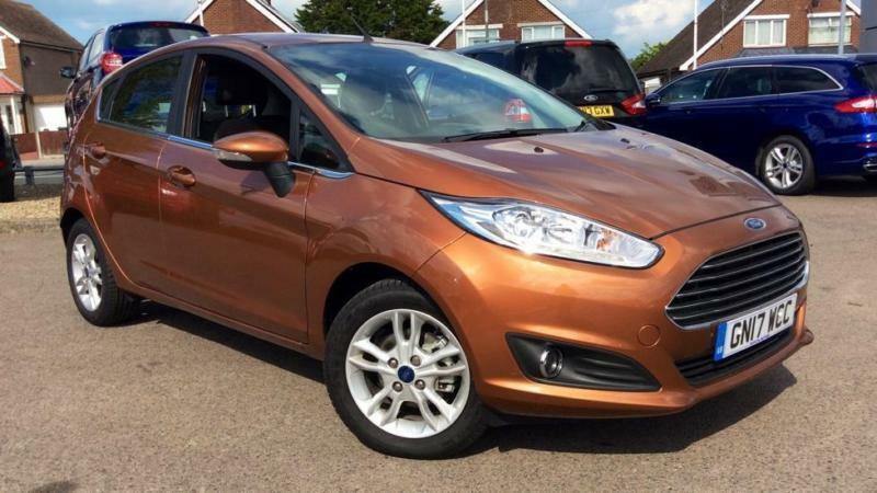 2017 Ford Fiesta 1.25 82 Zetec 5dr Manual Petrol Hatchback