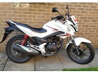 Honda CB125F 2016 ONLY 230 miles Immaculate