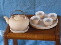 Chinese orange peel tea set