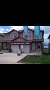 Stony Plain Former Duplex Showhome for rent