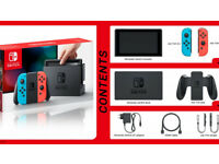 Nintendo Switch Console ✔NEON RED/BLUE ✔TRUSTED SELLER ✔BRAND NEW ✔50+ SOLD ✔2 YEAR WARRANTY! - LOOK