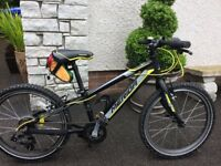 """Merida kids 20"""" mountain bike as new condition suits up to 10 yrs old"""