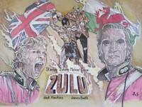 Classic movies ZULU hand Painting