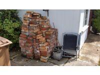 Red Belfast Bricks - Approximately 300