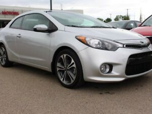 2015 Kia Forte Koup EX, 6 SPEED, USB/AUX, BACKUP CAM