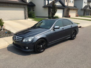 2008 Mercedes-Benz C300 4Matic AWD - Great Condition