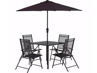 4 Seater Patio Set and BBQ