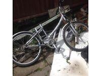 Free ex electric bike, now just bike.