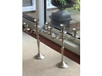 Graham and Green candelabras.Brand new