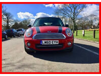 Mini --- 2010 Mini hatch Cooper 1.6 D Diesel --- Low 41000 Miles --- Mini Copper --- Nice Red Sporty