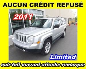 2011 Jeep Patriot Limited**cuir-toit ouvrant-mags**