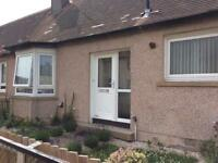 One bed semi detached cottage in penicuik