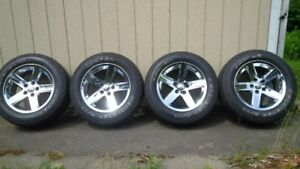 "20"" ram 1500 wheels rims and tires"