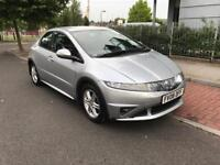 Honda Civic 1.4 Petrol 5 Door Hatchback 2008 Low Mileage 1 Year Mot