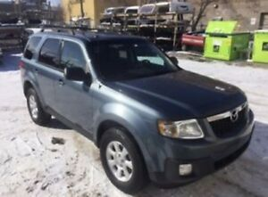 2010 Mazda Tribute AWD.  Only 138kms