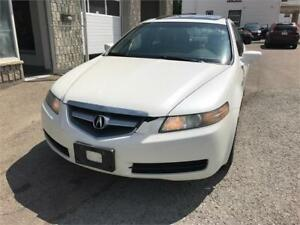 2005 ACURA TL LOADED, ICE COLD A/C, ROOF, BLUETOOTH