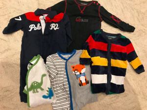 Boys Clothes 0-3, 3-6, 6-9, 12-18, 18-24 months - used/new