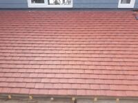 Concrete plain roof tiles