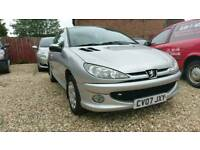 2007 Peugeot 206 1.4 Petrol, Mot April 2018