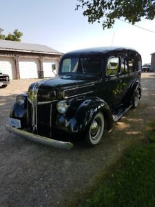 1941 ford 3/4 ton panel truck